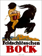 Gallery Print  Feldschlösschen Bock - Advertising Collection