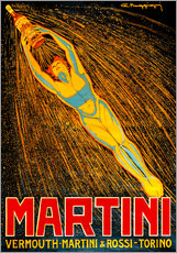 Wandsticker  Martini Vermouth Martini & Rossi Torino - Advertising Collection
