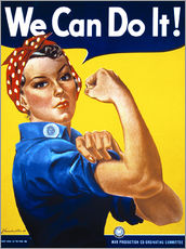 Wandsticker  We Can Do It! - Advertising Collection