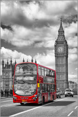Big Ben and Red Bus