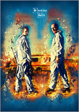 Breaking Bad - Walter White Serien Show Alternative