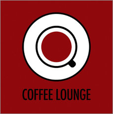 Coffee Lounge, braun