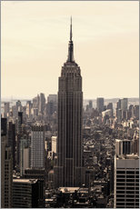 Empire State Building Vintage