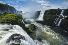 Foz de Iguazu (Iguacu Falls), the largest waterfalls in the world, Iguacu National Park, UNESCO Worl