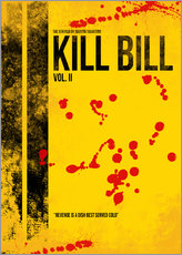 Kill Bill 2 - Tarantino Minimal Film Movie Alternative