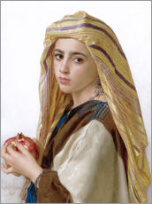 Girl with a pomegranate