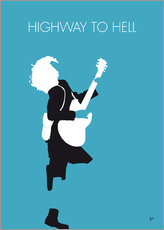 No065 MY ACDC Minimal Music poster