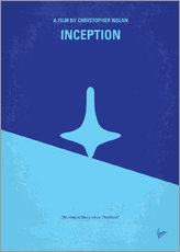 No240 My Inception minimal movie poster