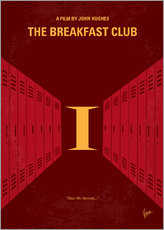 No309 My The Breakfast Club minimal movie poster
