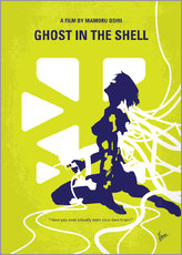 No366 My Ghost in the Shell minimal movie poster
