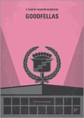 No549 My Goodfellas minimal movie poster