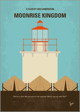 No760 My Moonrise Kingdom minimal movie poster