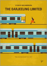 No800 My The Darjeeling Limited minimal movie poster