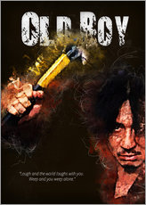 Oldboy - Minimal Film Movie Fanart Alternative