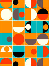 Mandy reinmuth panton orange poster online bestellen for Poster jugendzimmer