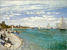 Regatta in Sainte-Adresse