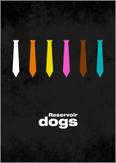 Reservoir Dogs - Minimal Film Movie Tarantino Alternative