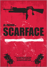 Scarface - Minimal Alternative Movie Fanart