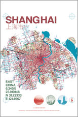 Shanghai city map