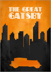 The Great Gatsby - Minimal Movie Film Fanart Alternative