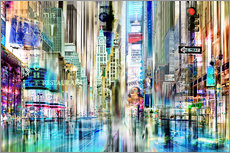 times square USA NYC New York Collage