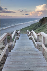 Stairs down to the beach, Sylt