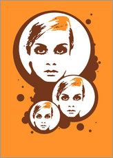 Twiggy Mathmos Orange