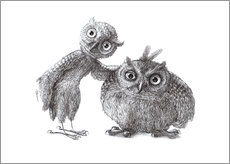 Two Owls - Stan & Oliver