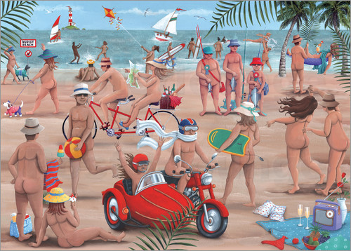 Peter Adderley - 26294 The Nudist Beach