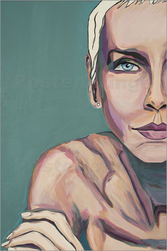 Poster Annie Lennox -Baby Talk to Me