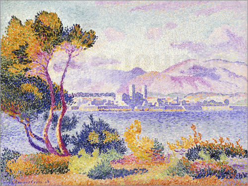 Henri Edmond Cross - Antibes, Nachmittags (Antibes, Apres-midi). 1908.