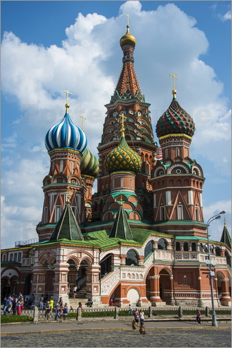 michael runkel basilius kathedrale moskau poster online bestellen posterlounge. Black Bedroom Furniture Sets. Home Design Ideas