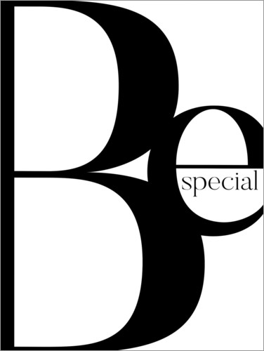 Poster BE SPECIAL