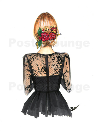 Rongrong DeVoe - Black Lace and Rose