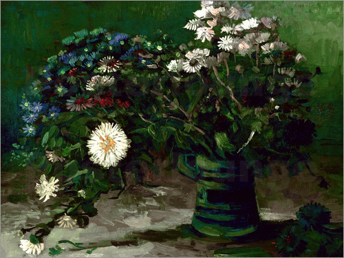 Poster Bouquet of Daisies