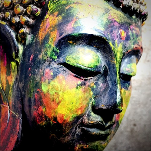 Colorful Buddhist Paintings