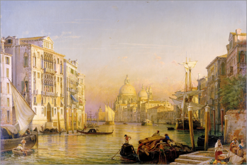 Friedrich Nerly - Canale Grande in Venedig