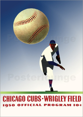 Sporting Frames - chicago cubs 1950