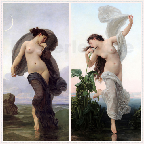 William Adolphe Bouguereau - Dämmerung & Morgenröte