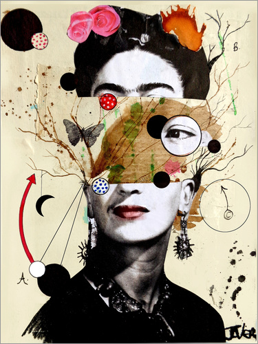 Poster deconstructed frida