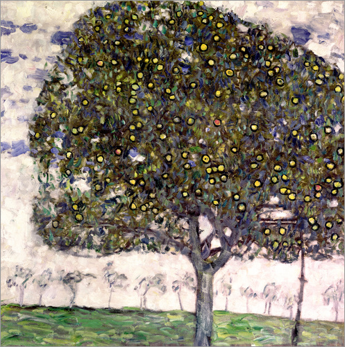 gustav klimt der apfelbaum ii poster online bestellen. Black Bedroom Furniture Sets. Home Design Ideas