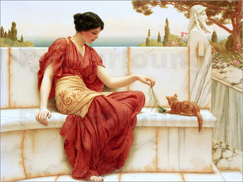 John William Godward - Der Liebling