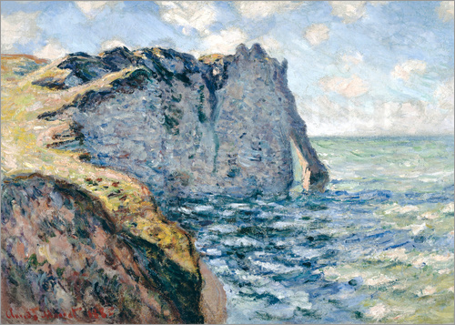 Claude Monet - Der Manneport