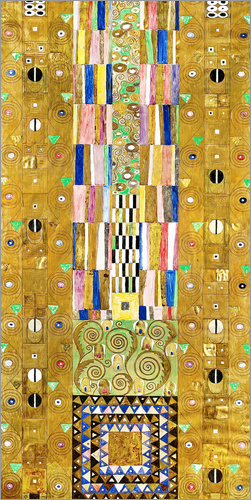 Gustav Klimt - Der Ritter, Stoclet-Fries