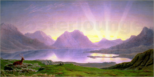 William Turner of Oxford - Die Dämmerung, Loch Torridon