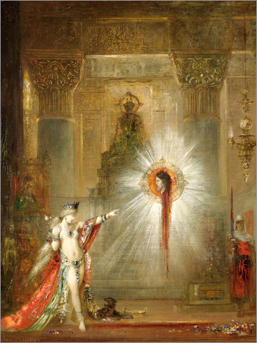 gustave moreau die erscheinung salome poster online. Black Bedroom Furniture Sets. Home Design Ideas