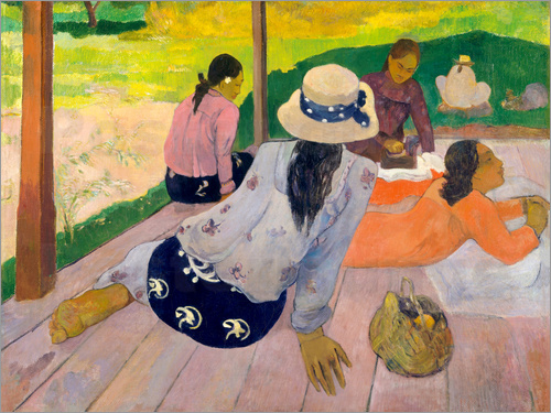 Paul Gauguin - Die Siesta