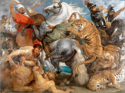 Peter Paul Rubens - Die Tigerjagd