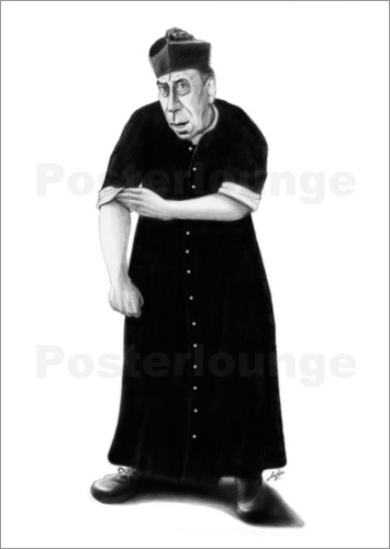 Poster Don Camillo immer Kampfbereit