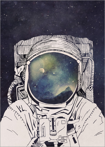 Poster Dreaming of Space